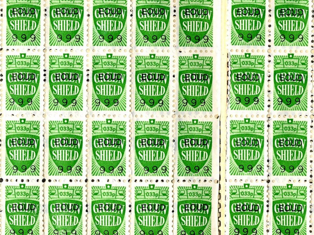 Green Shield Stamps Ireland